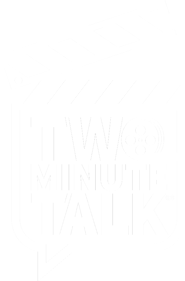 2 minute talk logo